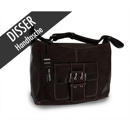 Disser Handtasche Schultertasche Braun NSI6345