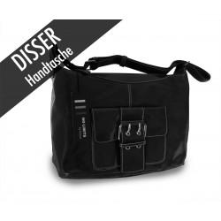 Disser Handtasche Schultertasche Schwarz NSI6345