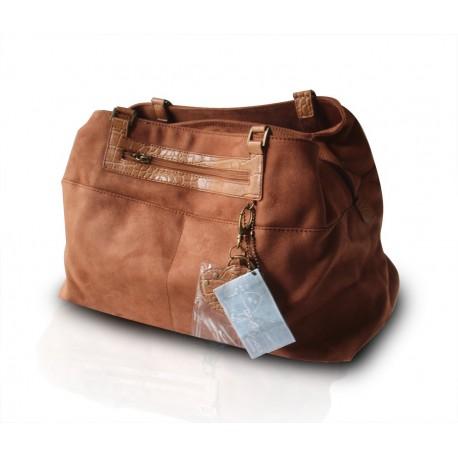 David Jones Kollektion Shopper Handtasche Beuteltasche Braun