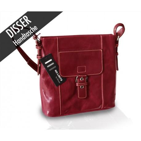 Disser Handtasche Schultertasche Rot NSI6459