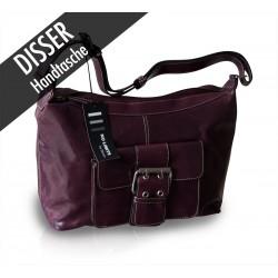 Disser Handtasche Shopper Umhängetasche Pflaume NSI6345