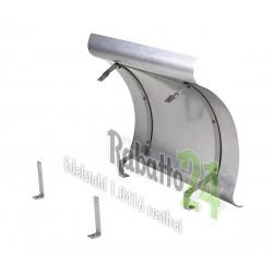 Schornsteinabdeckung Kaminwelle Edelstahl klappbar 1mm