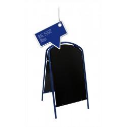 Kundenstopper Werbetafel Aufsteller Blau