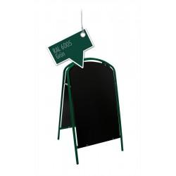 Kundenstopper Werbetafel Aufsteller Grün