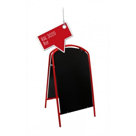 Kundenstopper Werbetafel Aufsteller Rot