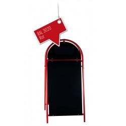XXL Kundenstopper Werbetafel Aufsteller Rot