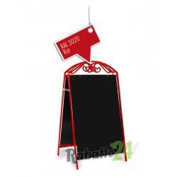 Kundenstopper Werbetafel Rot