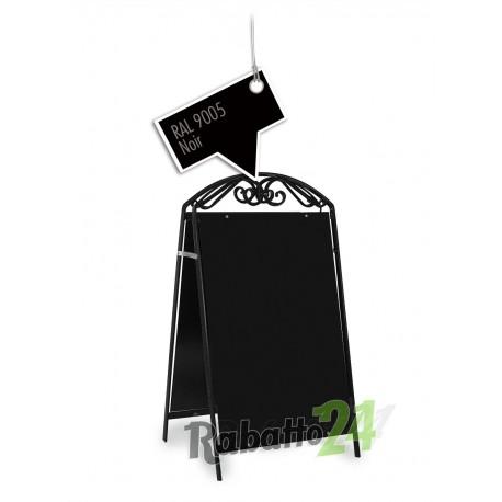 Kundenstopper Werbetafel Schwarz