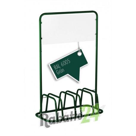 3er Fahrradständer Werbeschild Grün