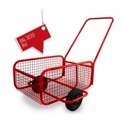 Handwagen Bollerwagen Transportwagen Einkaufswagen Transportwagen  Rot