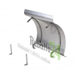Schornsteinabdeckung Kaminwelle Edelstahl V2A 1.4301 1mm hochwertig klappbar