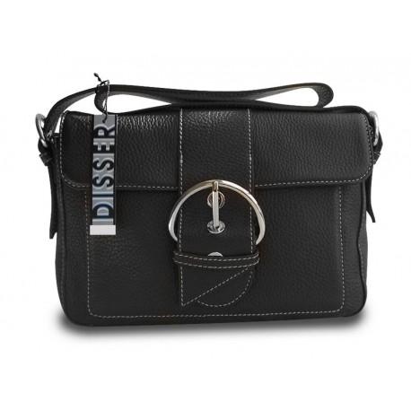 Disser Hampton Handtasche Schultertasche Umhängetasche Schwarz DHA6433SZ