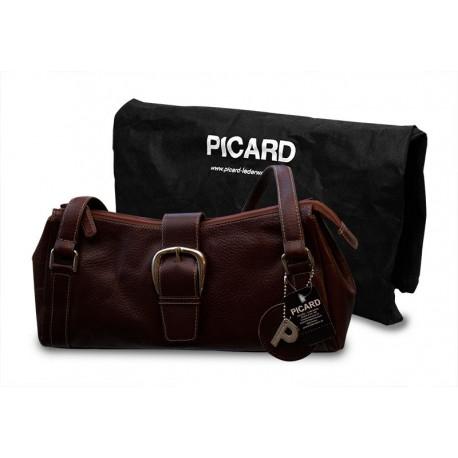 Original Picard Vesuv Echtleder Handtasche 5660 Cognac