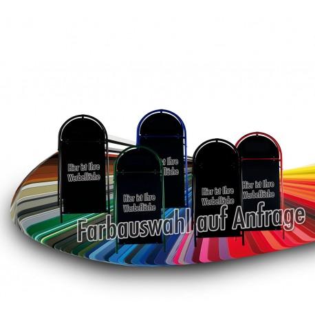 Werbeschild-Firmenschild-Werbemittel Strassenschild Kundenstopper XXL Sonder RAL Farbe