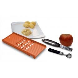 Kugelausstecher Kartoffel Rösti Reibe Gemüse Apfelstecher Apfel Ausstecher Orange