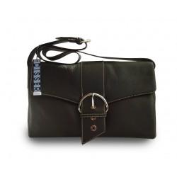 Disser Hampton Handtasche Schultertasche Umhängetasche Schwarz DHA6440SZ